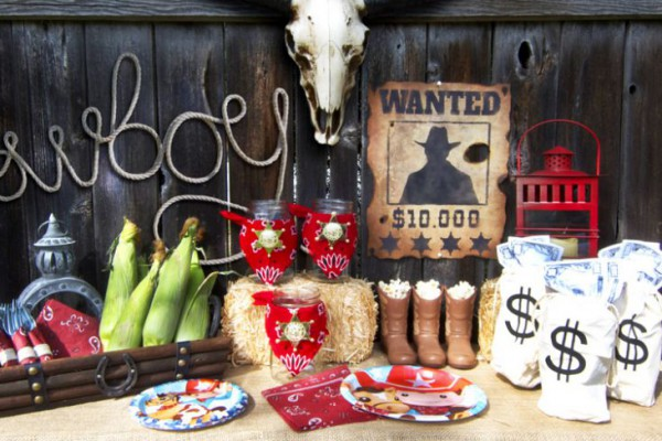 Cowboy Theme Only at BirthdayExpress.com