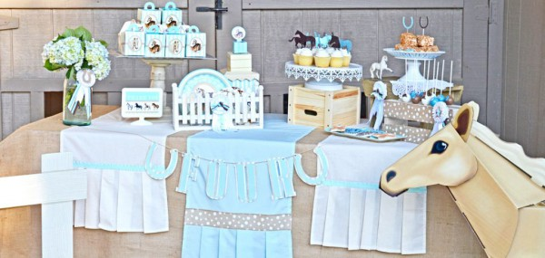 Ponies Party styled by GreyGrey Designs. Available exclusively at Birthday Express.
