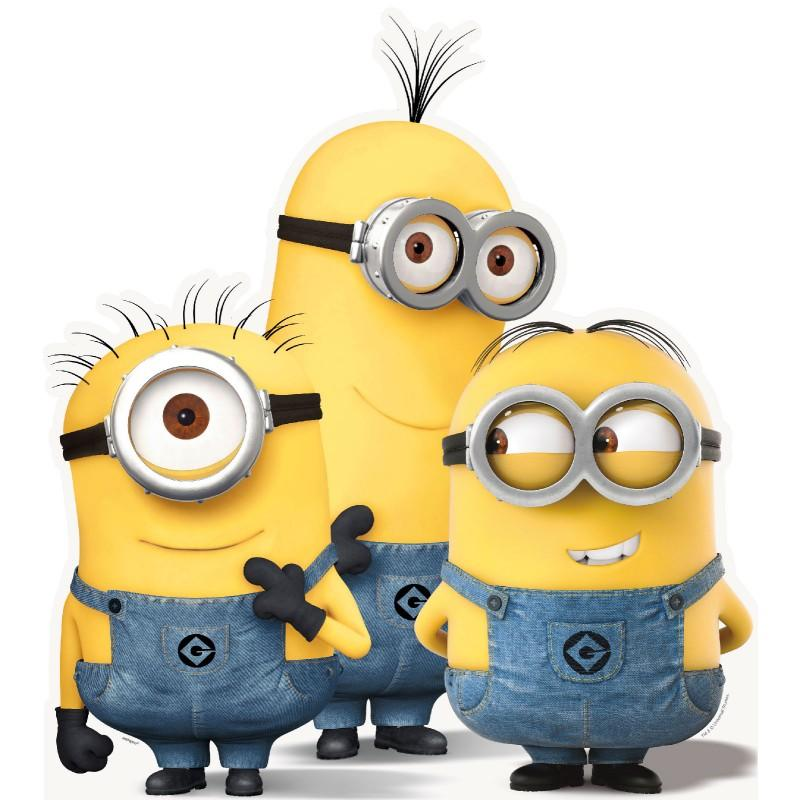 Minions group stand-up[
