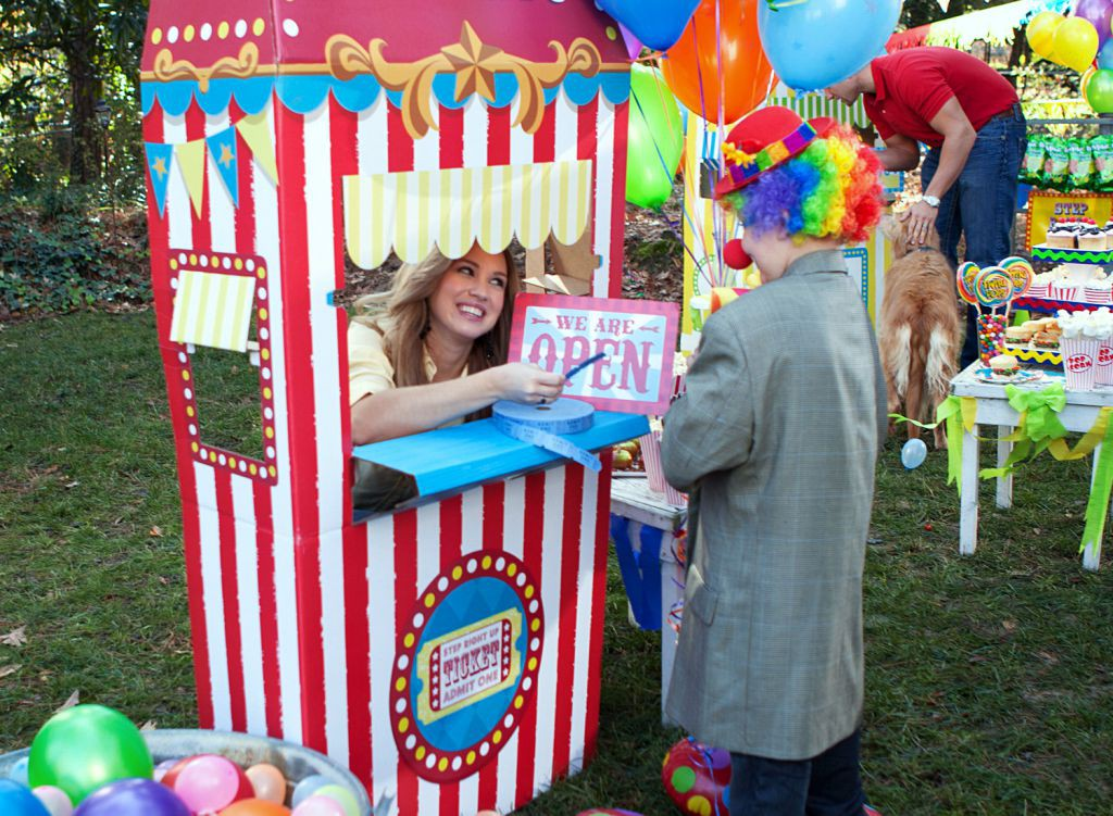Carnival Ticket Booth 2