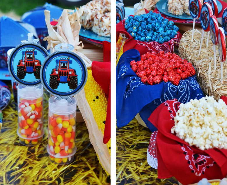 Farm Tractor Party Food Ideas