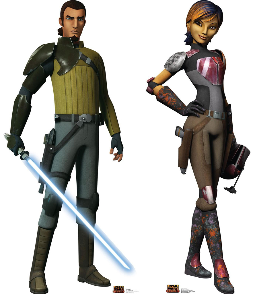 Kanan and Sabine Standups